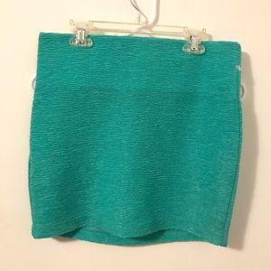 BCBGeneration Skirts - Seafoam green miniskirt